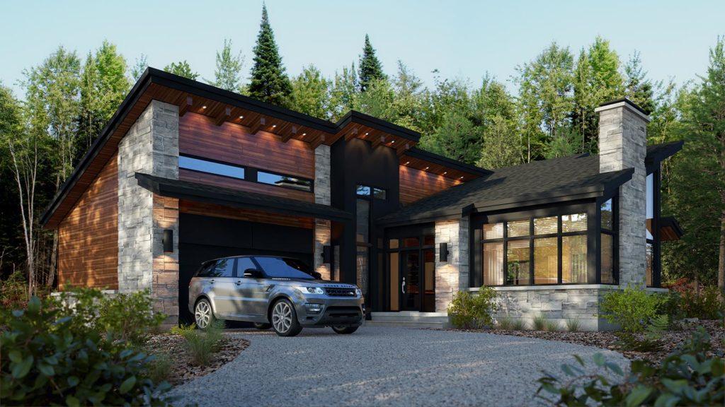 Modèle Le Vosges – Maison de luxe personnalisée – Domicil