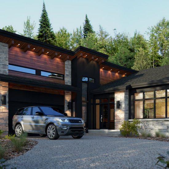 Le Vosges luxury home model –Custom high-end home – Domicil