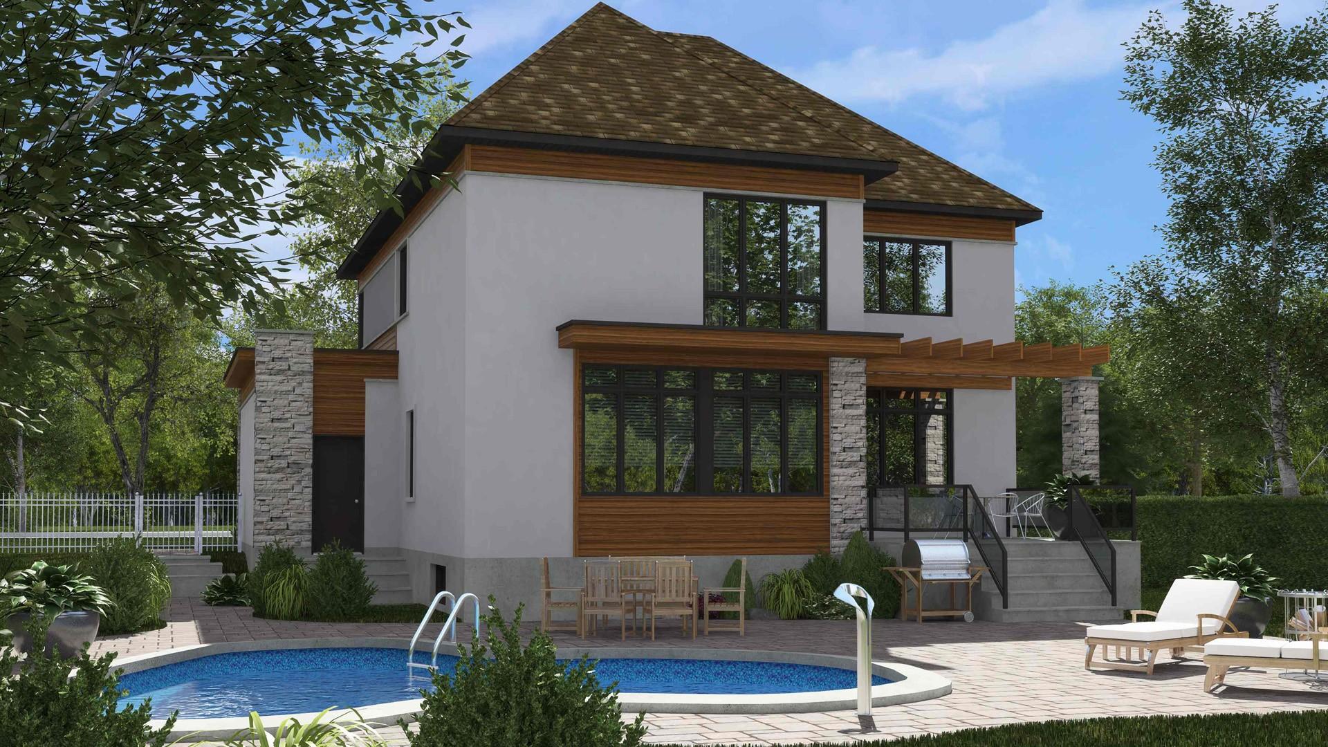 Cottage_Contemporain_Amélia_maison de prestige_Domicil