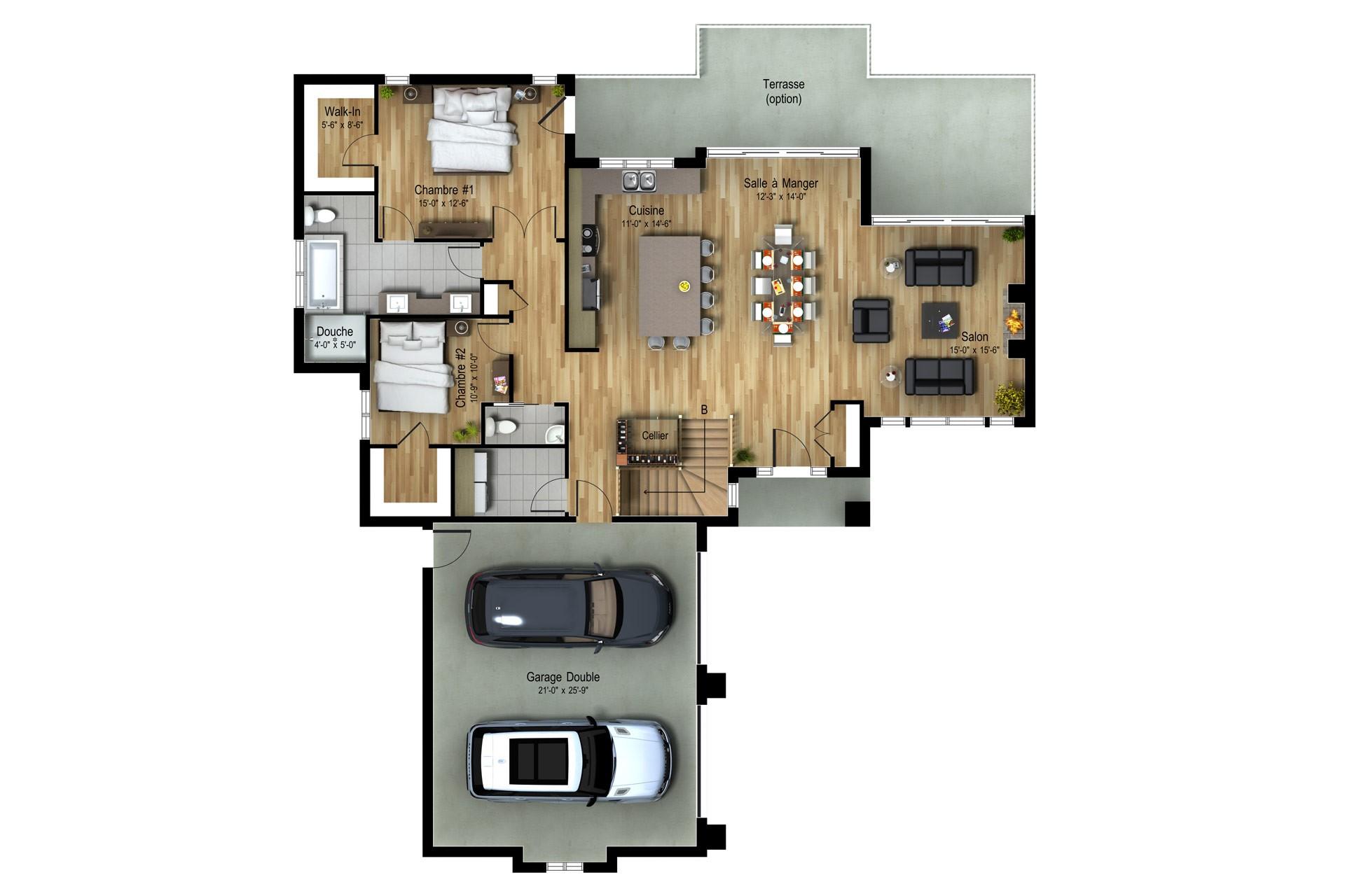 Nordique_ST-SAUVEUR_Sec-Plan maison de prestige_Domicil