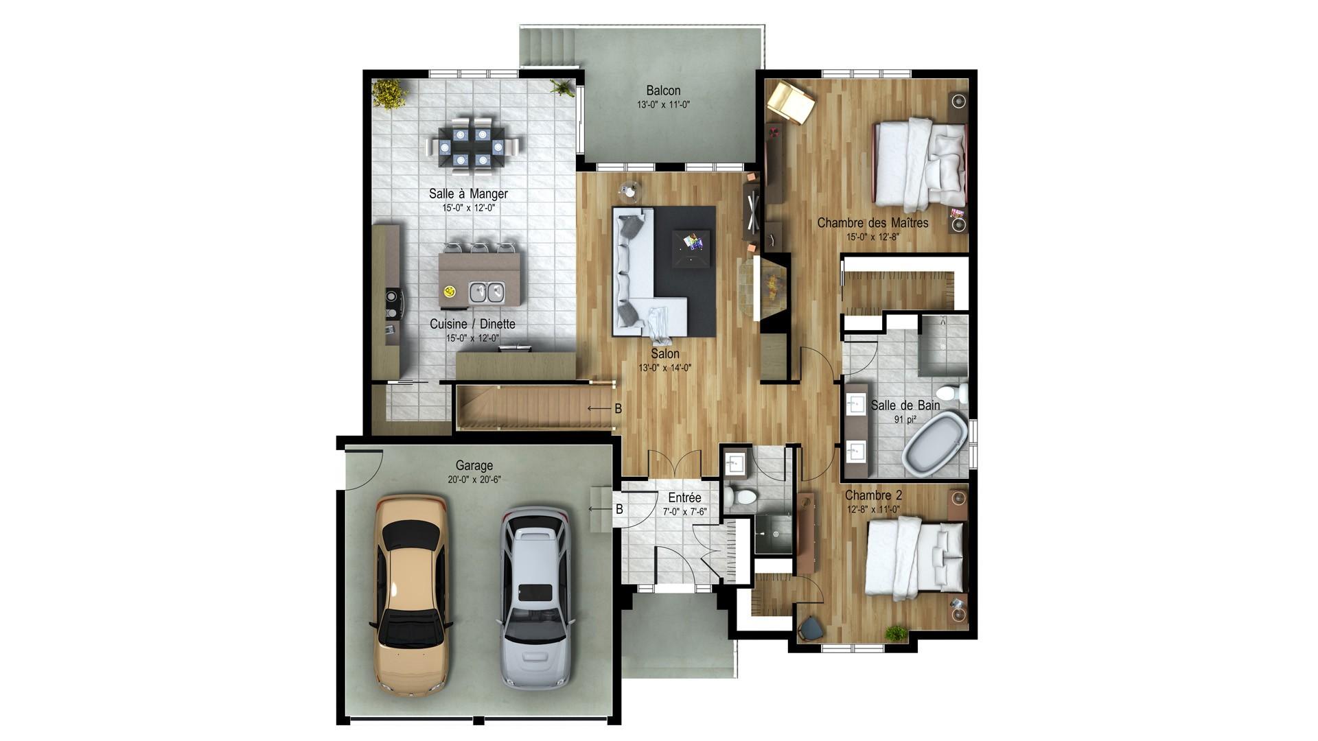 Chateaux_Châteauguay_Plan maison de prestige_Domicil