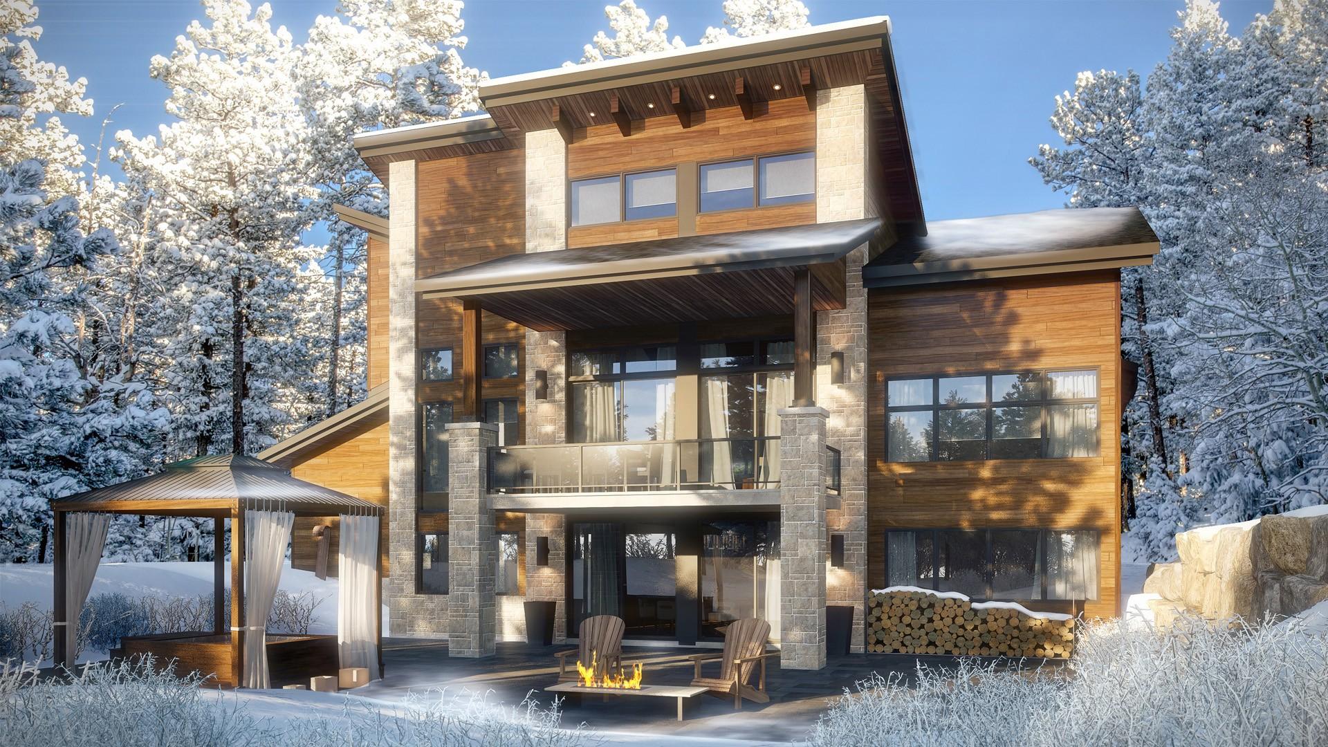 Mont-Blanc - Plan maison de luxe - Domicil