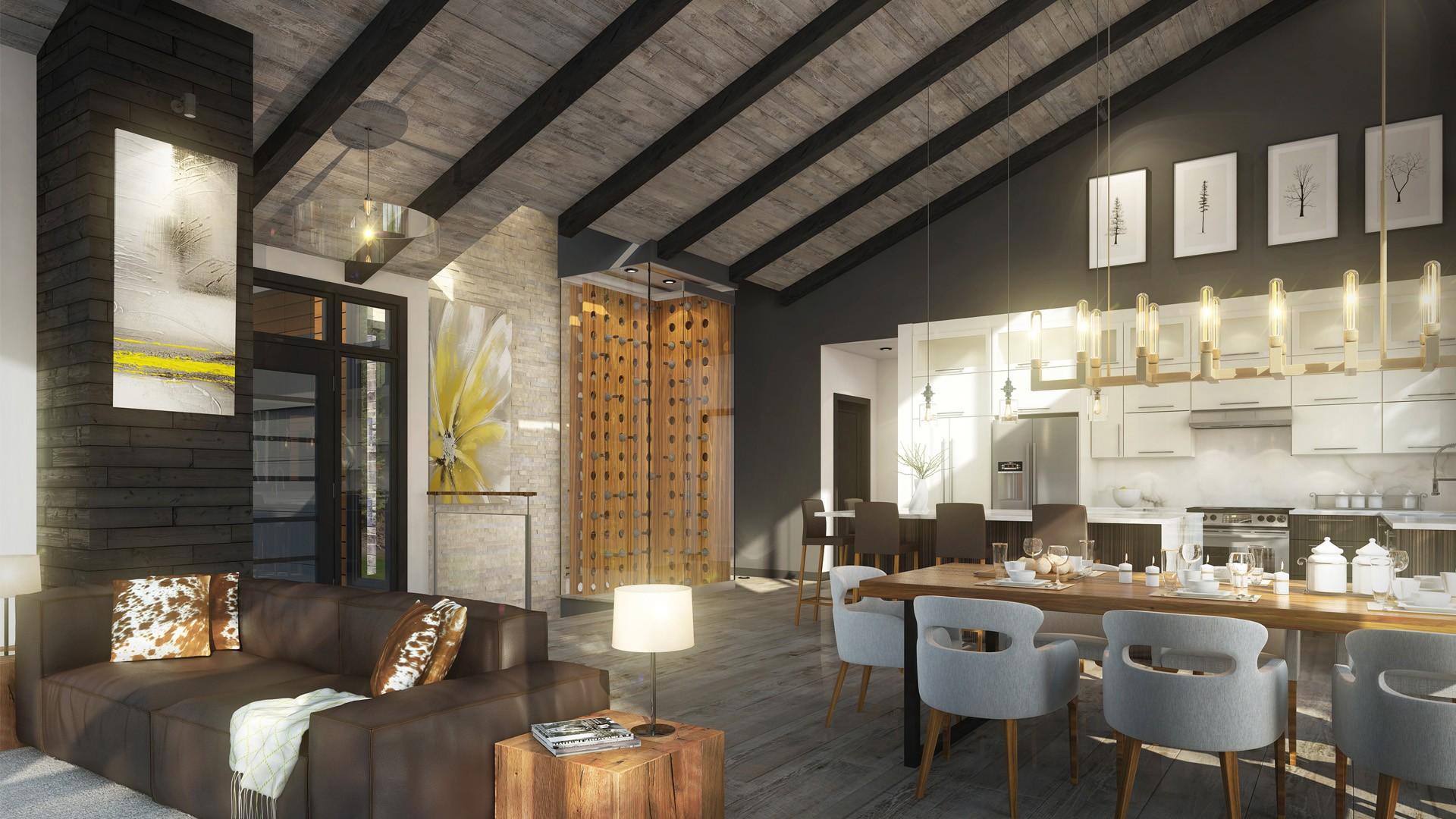 Le Vosges- Plan maison de luxe - Domicil