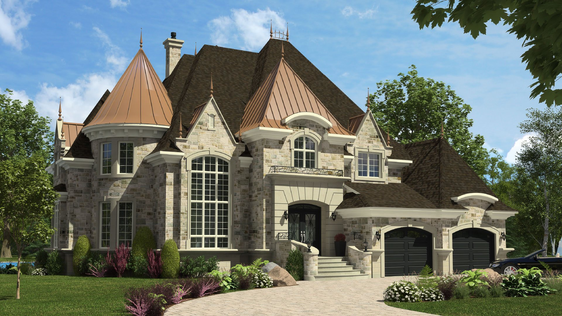High-end Home - Chateau-Royal - Domicil