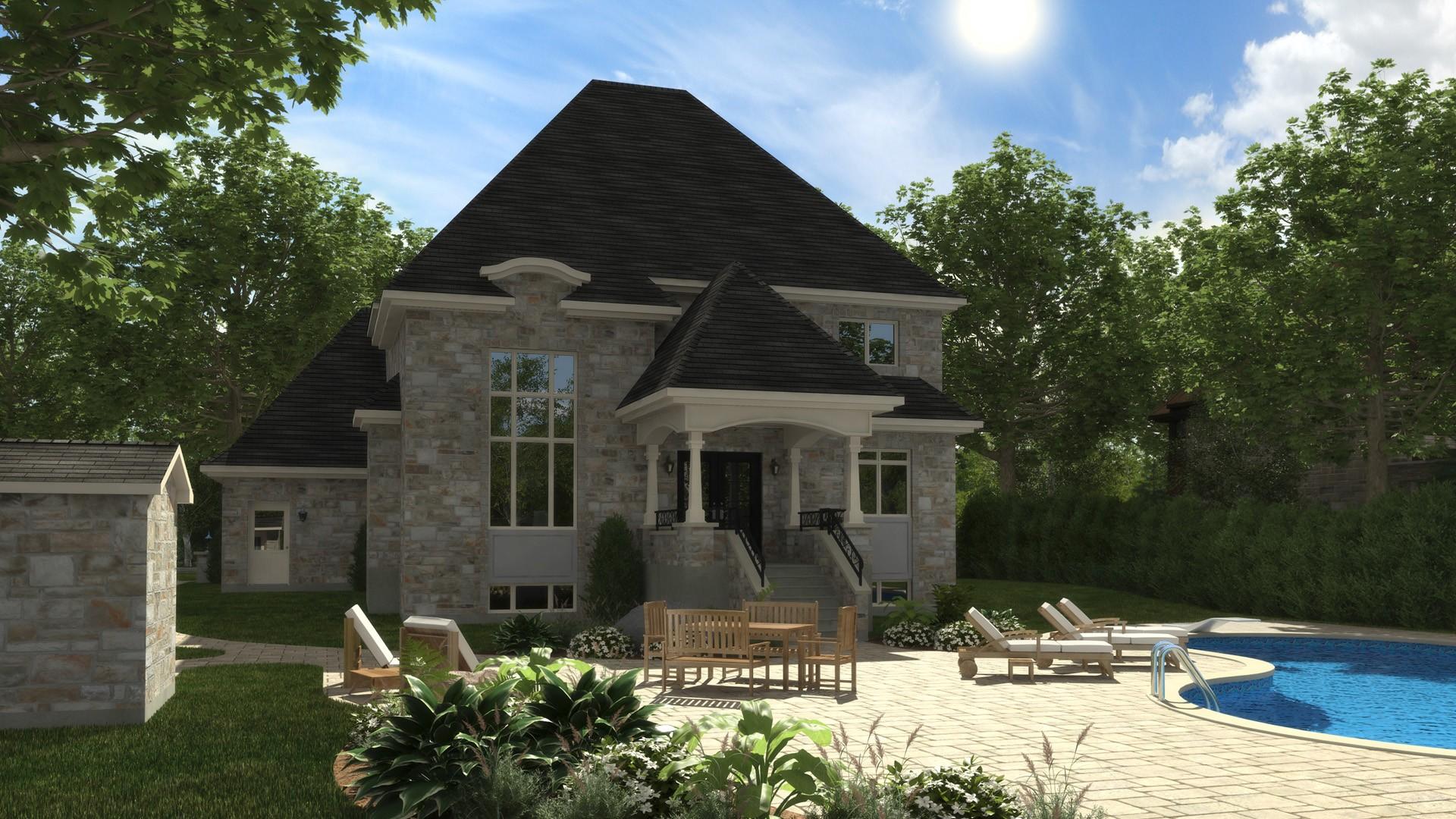 Cottage_Chateaux_Chateaufort_maison de prestige_Domicil