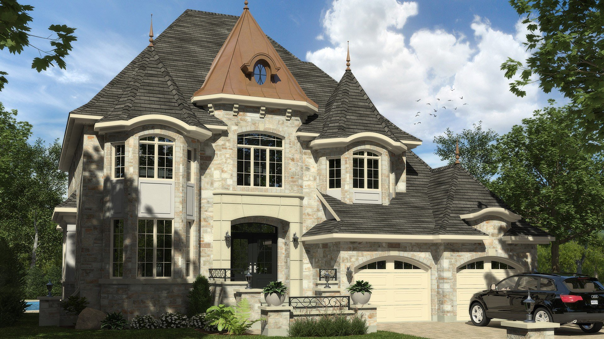 Cottage_Chateaufort_Luxury Home_Domicil