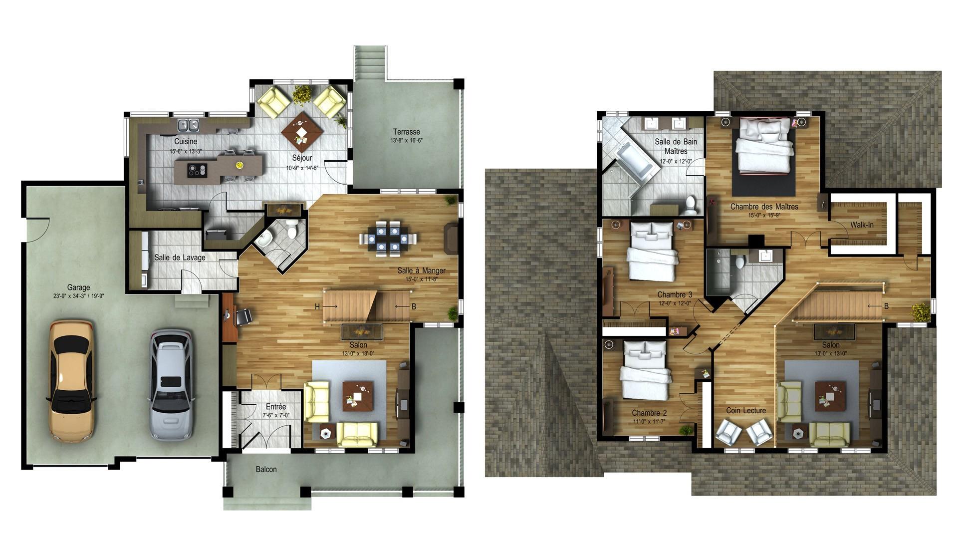 Classic Cottage_Serinity_Luxury home plans_Domicil