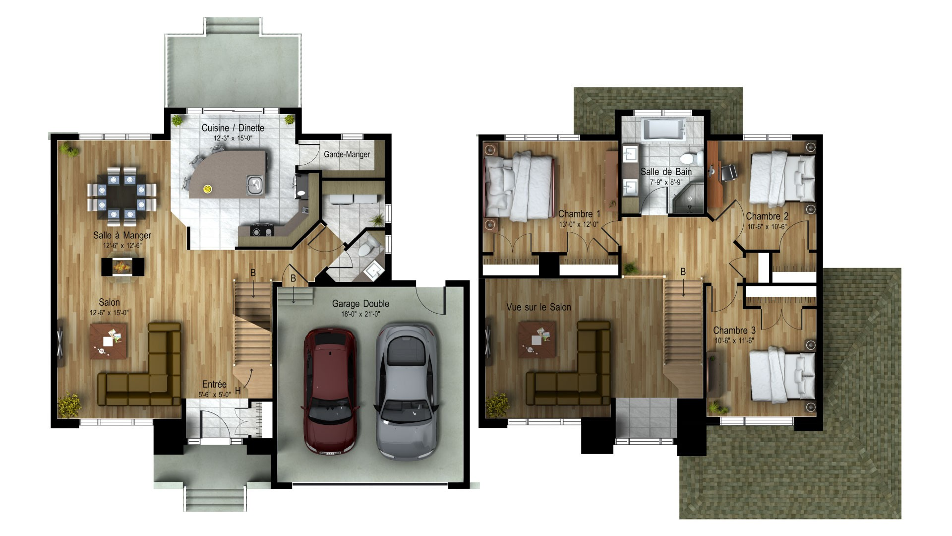 Cottage_Contemporain_Andalusia_Plan de maison de luxe_Domicil