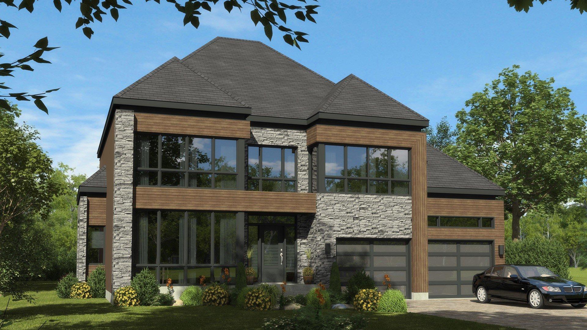 Cottage_Contemporain_Dreams_maison de prestige_Domicil