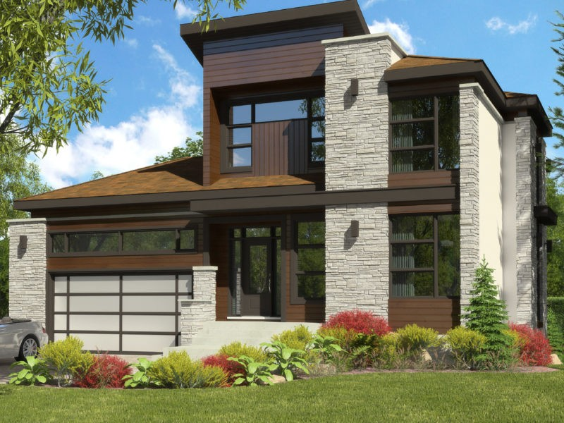 Cottage_Contemporain_Elegancia_Plan maison de luxe_Domicil