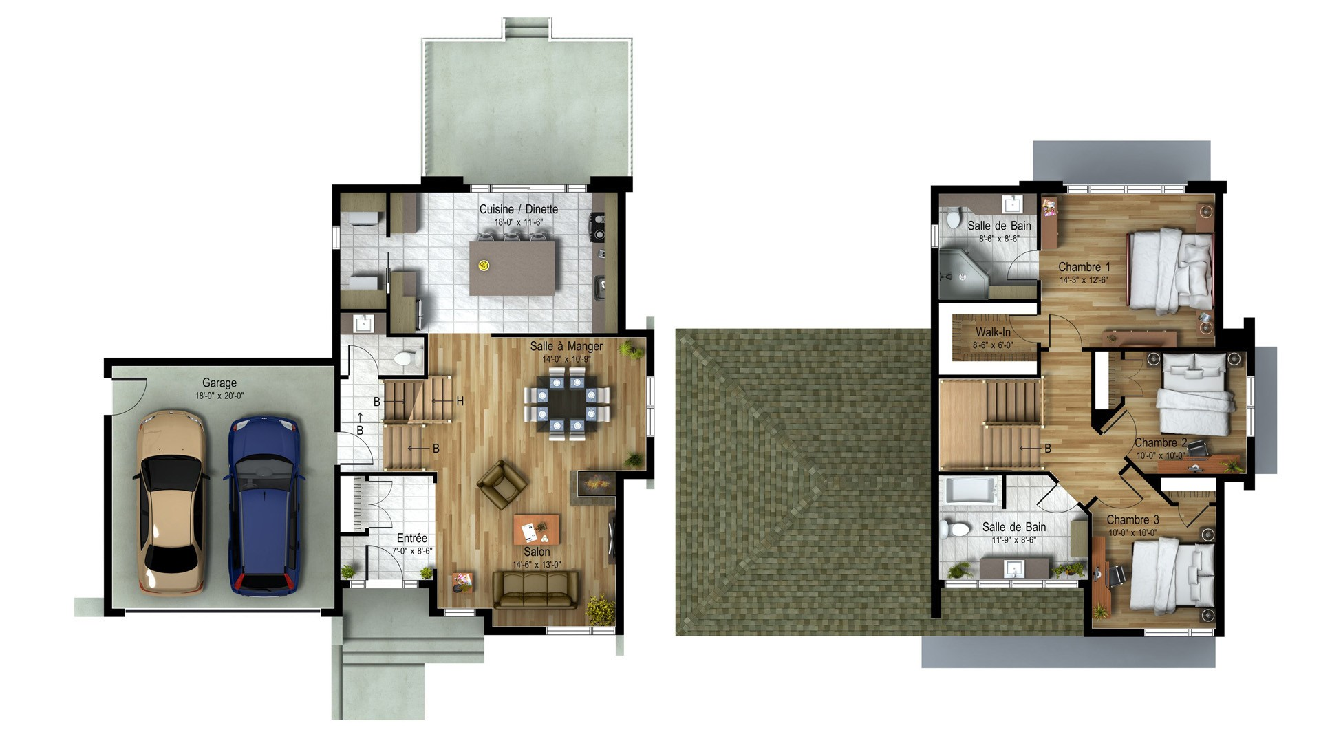 Cottage_Contemporain_Elegancia_Plan maison de prestige_Domicil