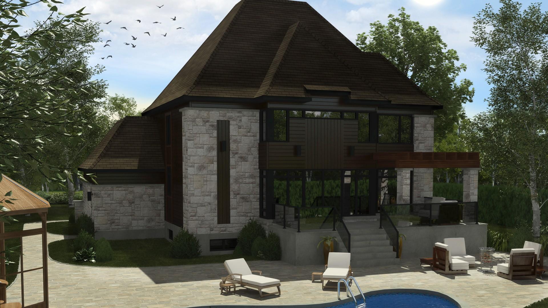 Contemporary Cottage_Elyssia_Luxury Home_Domicilde prestige_Domicil