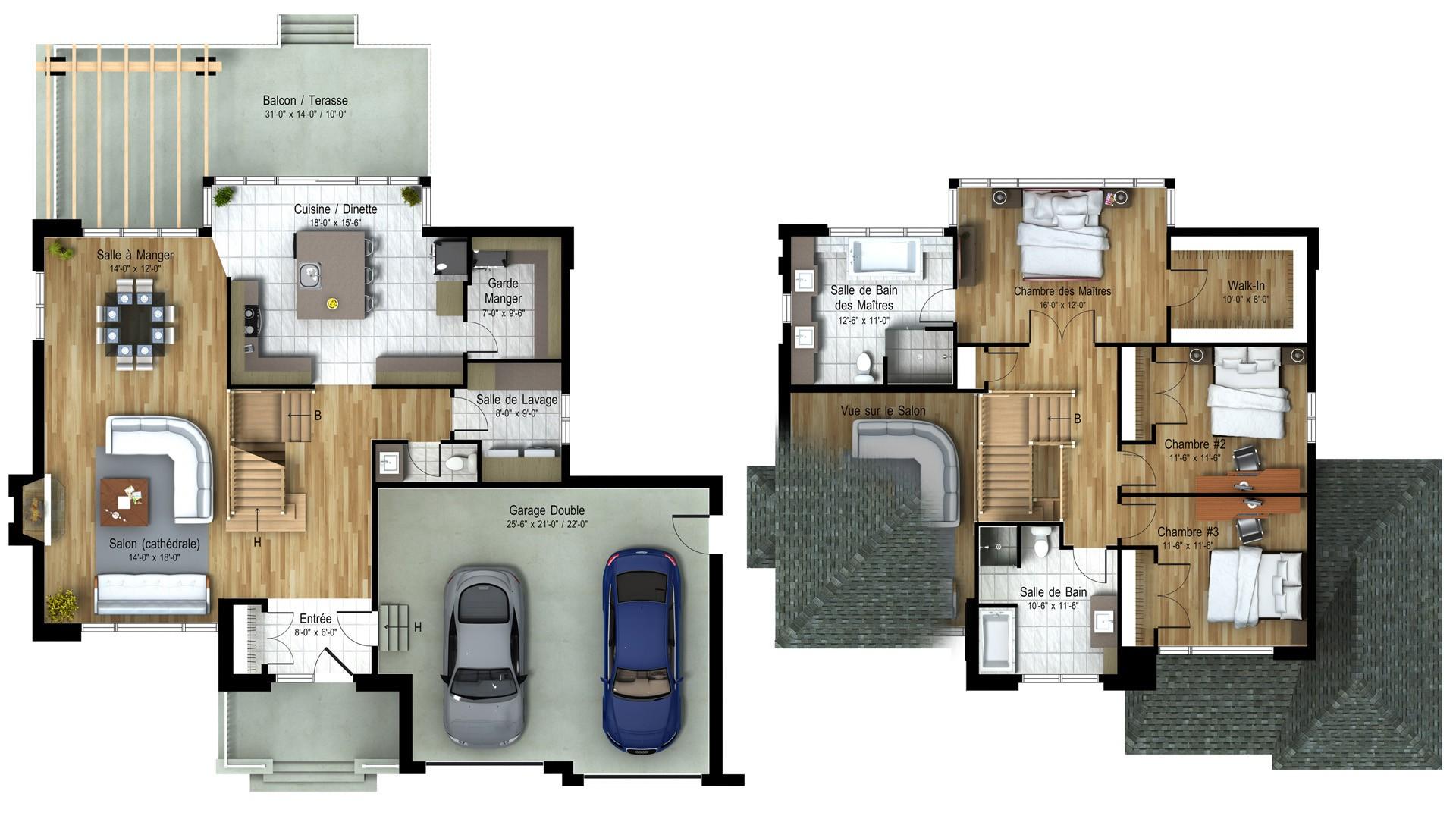 Contemporary Cottage_Elyssia_Luxury Home Plan_Domicil