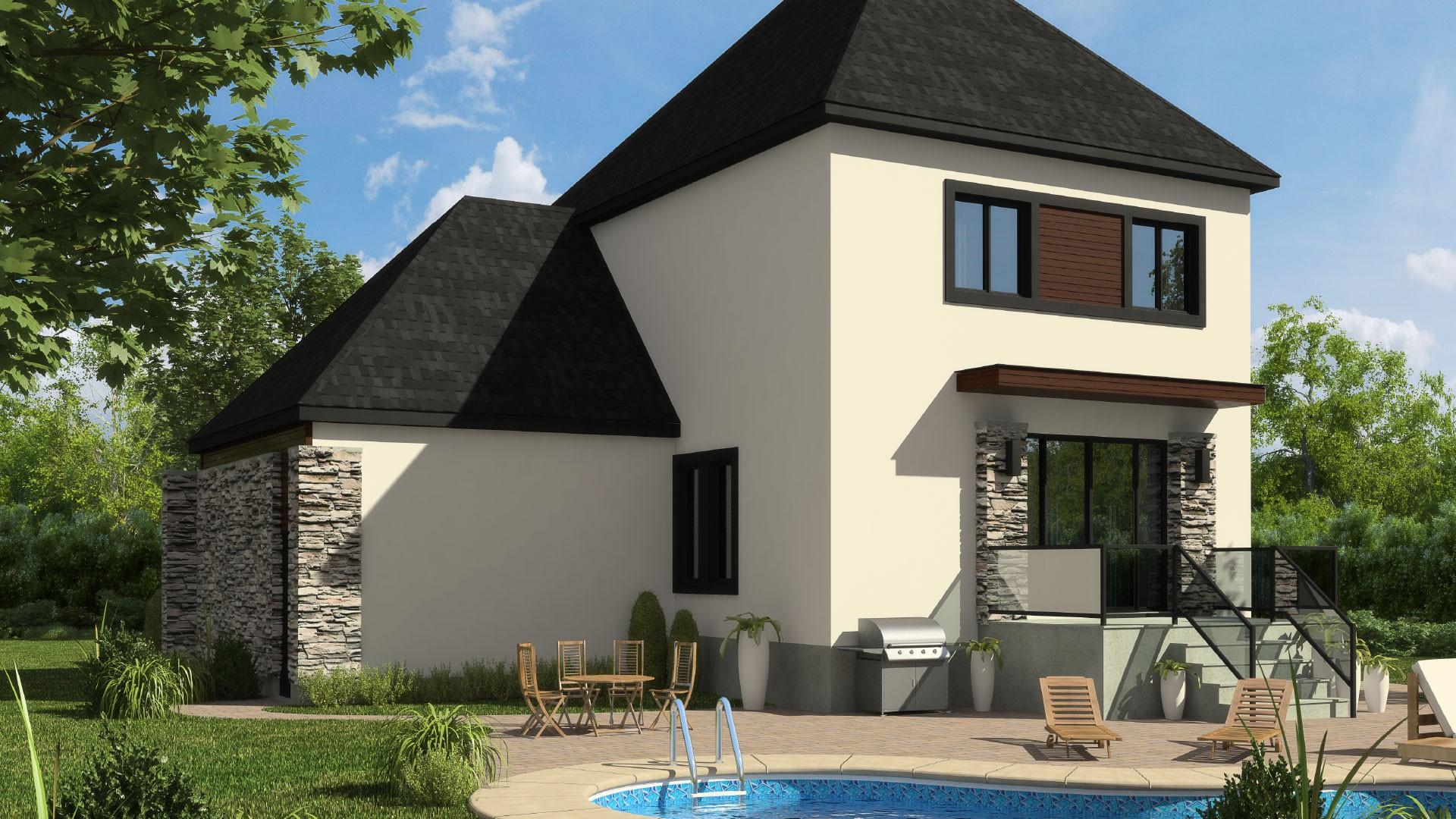 Cottage_Contemporain_Estrella_Maison de prestige_Domicil