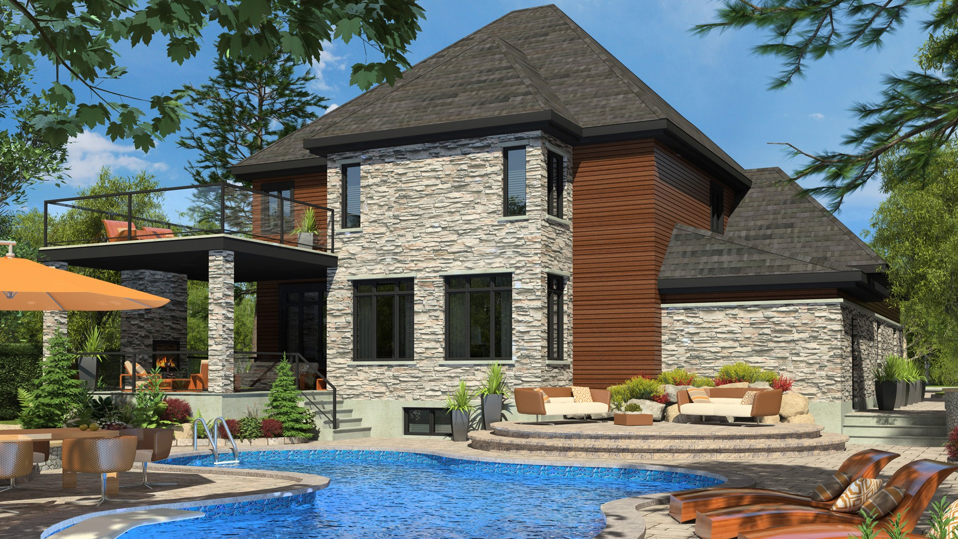 Contemporary Cottage_Nuance_Luxury Home_Domicil