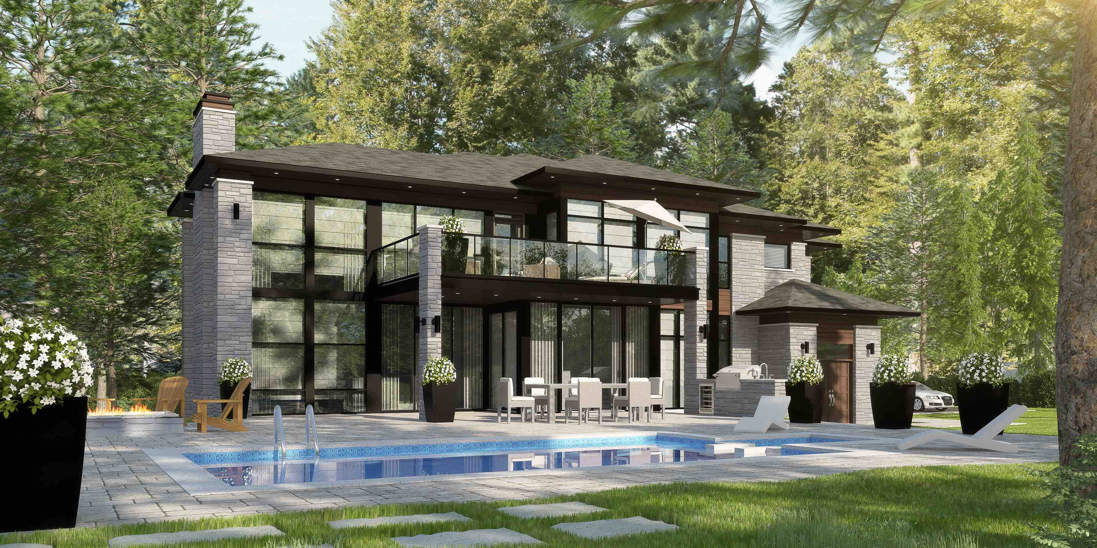Exclusive Concept Faîte-Boisé, Terrebonne – Luxury Home – Domicil