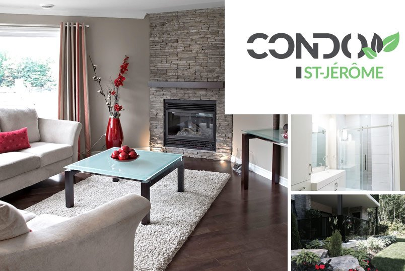 Condo St-Jérôme – Luxury apartments – Domicil