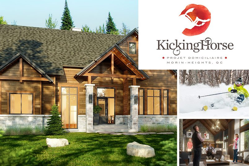 Kicking Horse – Luxury real estate  in Morin-Heights – Domicil
