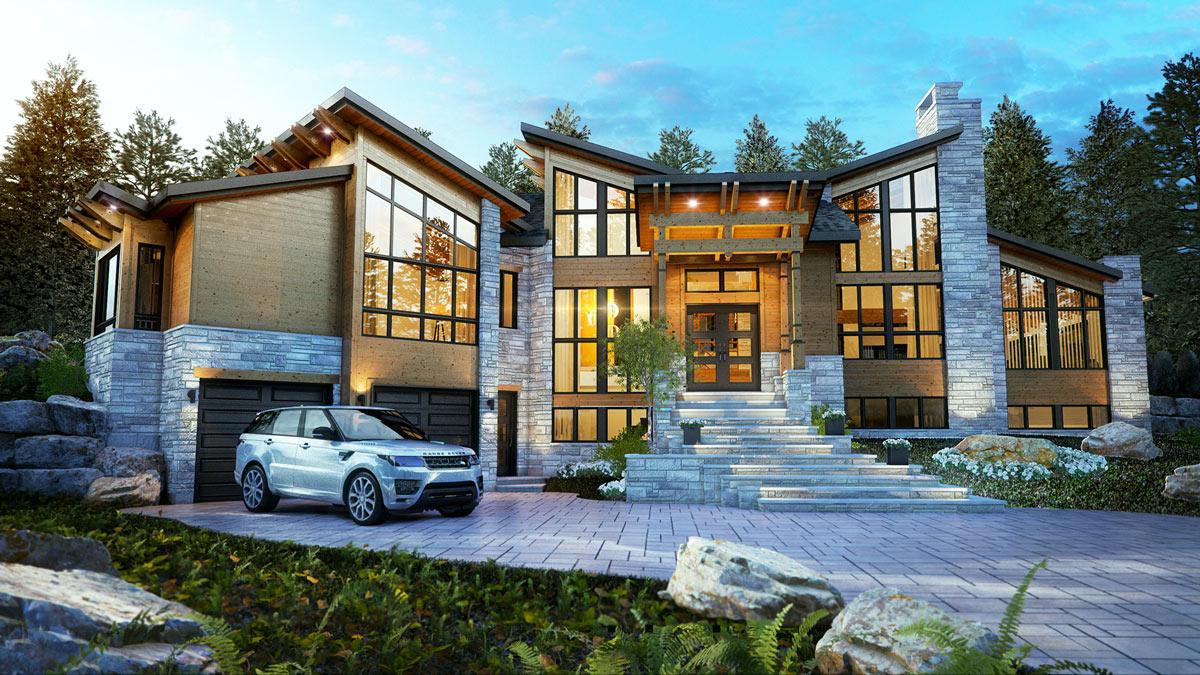 Le Mont-Gabriel – Luxury Home – Domicil