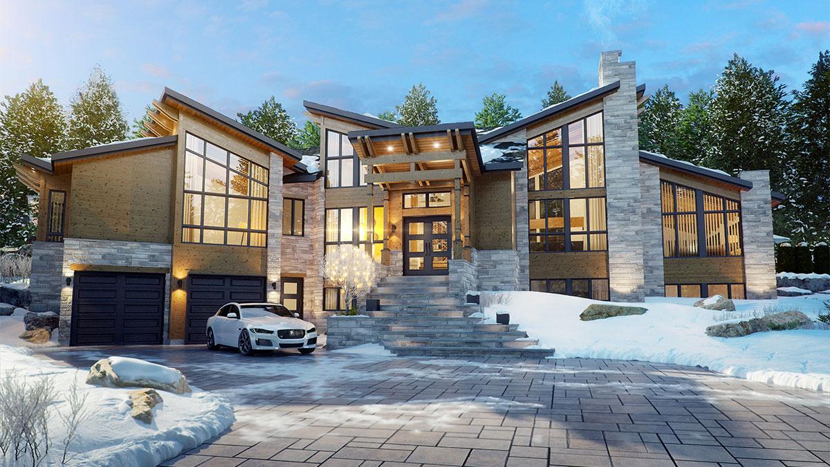 Le Mont-Gabriel – Luxury Homes – Domicil