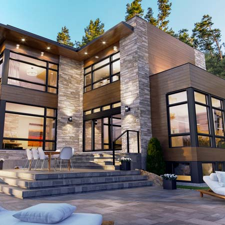 Exclusive concepts – Luxury home plans – Domicil
