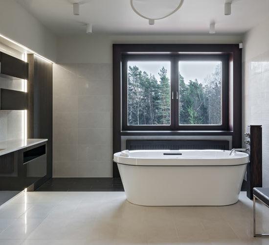 Luxury bathroom – Luxury Home builder – Domicil