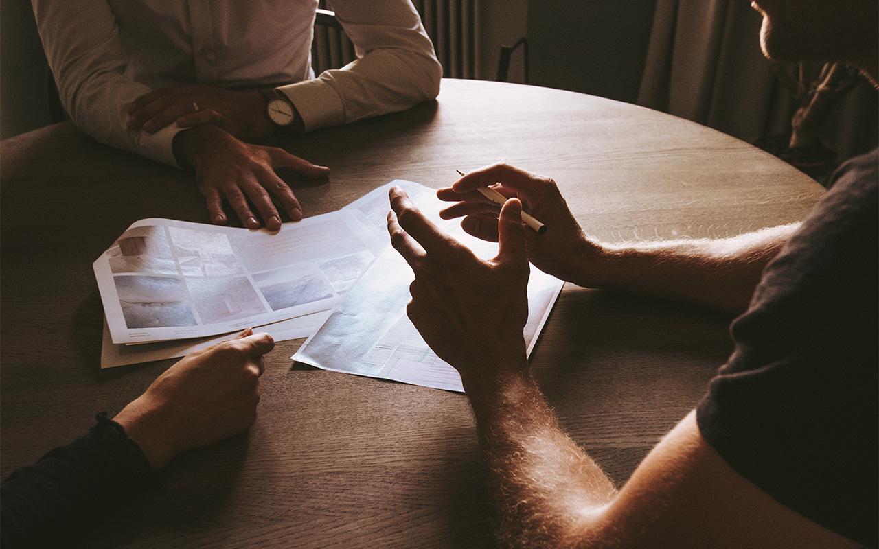 Domicil | Blogue | Projet Maison neuve | première rencontre | Header
